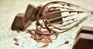 チョコレート 泡立て器